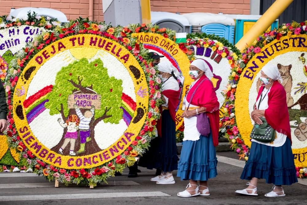 Vea en vivo el Desfile de Silleteros en el cierre de la Feria de las Flores