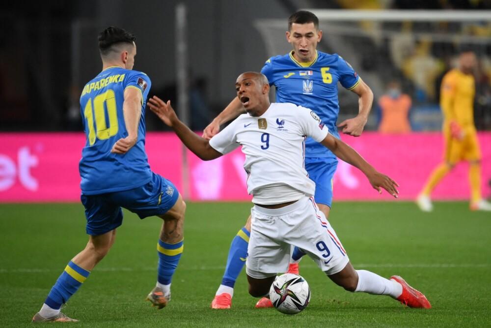 Francia vs Ucrania
