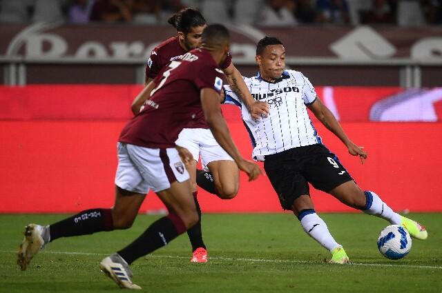 Muriel, en Torino contra Atalanta