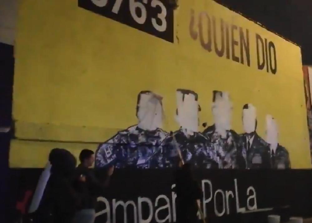 346297_BLU Radio. Mural // Foto: captura video Twitter @mafapobogota