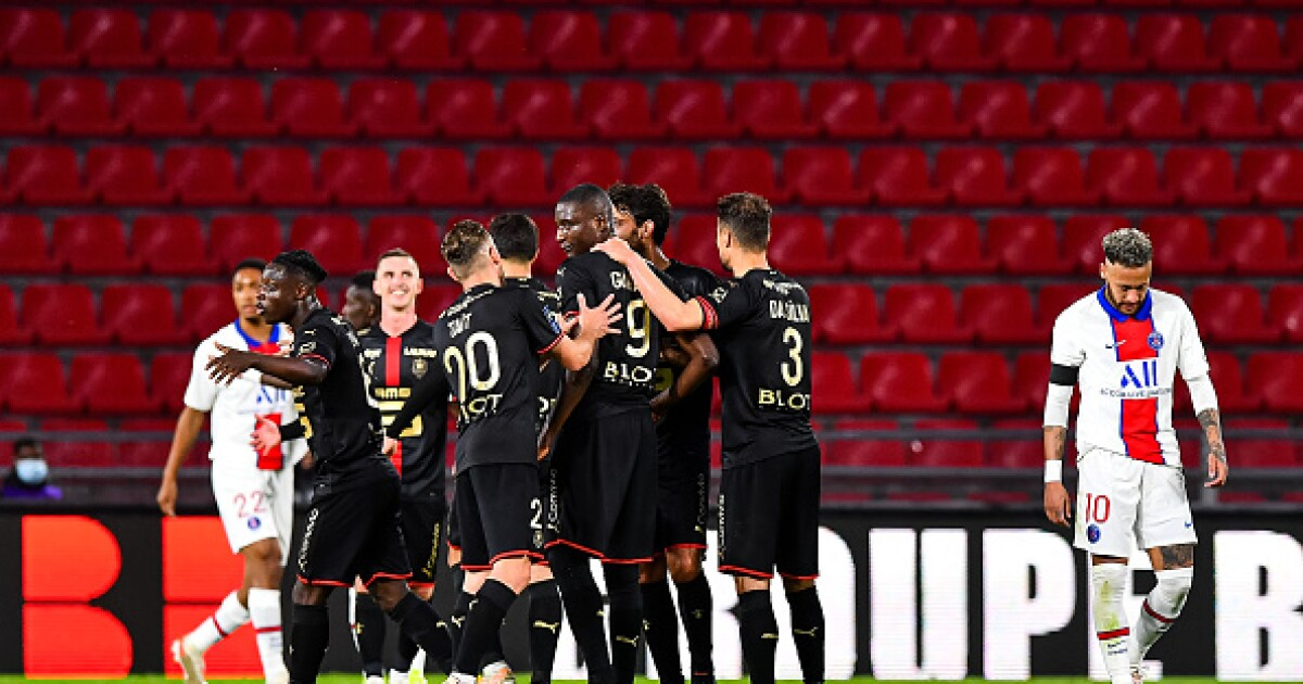 PSG le dejó en 'bandeja de plata' el título al Lille: empató 1-1 con el Rennes, en la Liga francesa