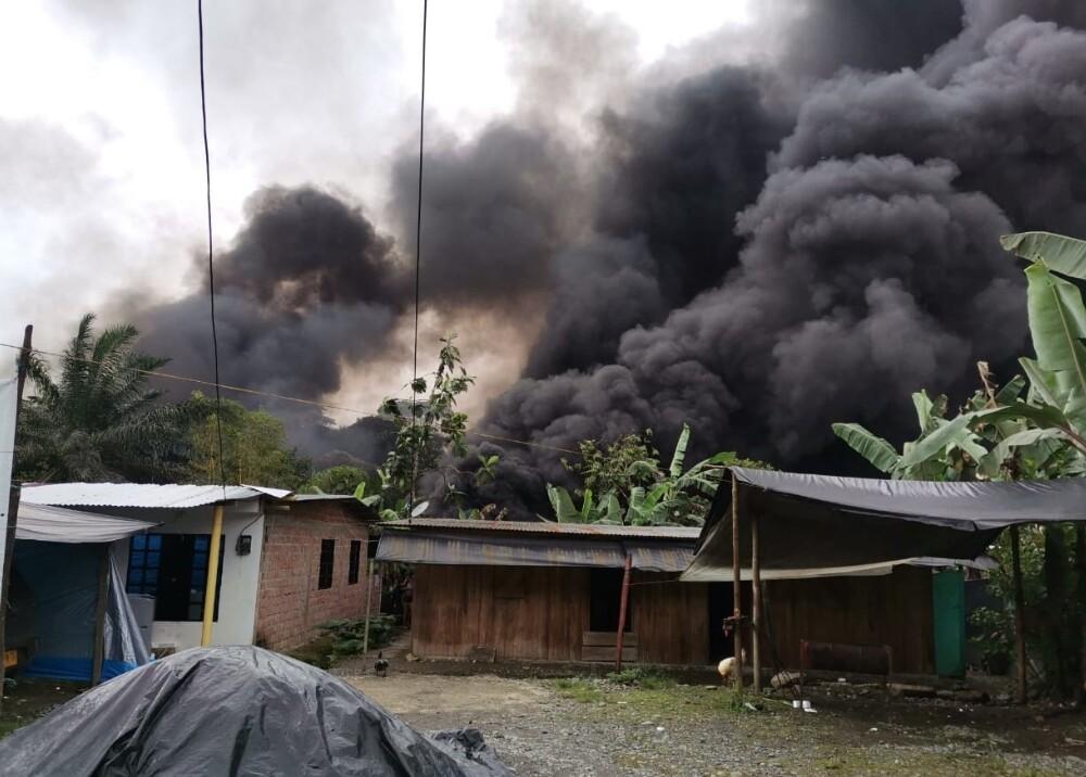 Gigantesco incendio se registró en tramo de oleoducto Transandino en Pacífico nariñense Foto sumin.jpg