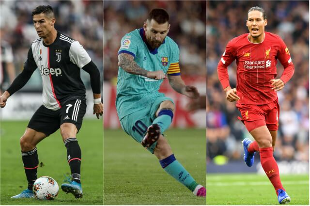 321415_Cristiano Ronaldo, Lionel Messi, Virgil Van Dijk