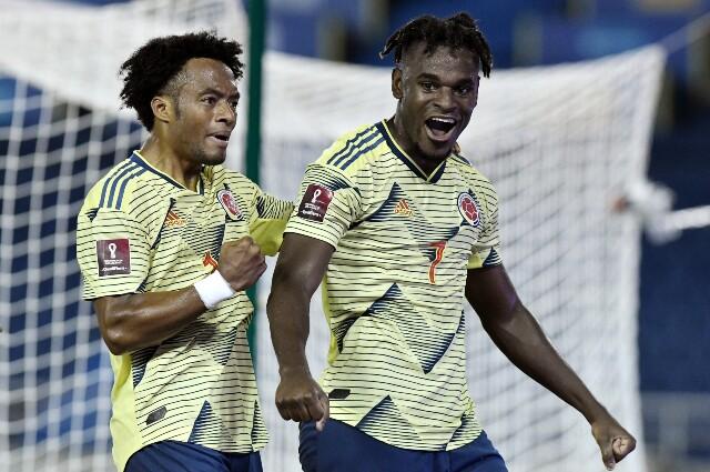 Alineación probable de la Selección Colombia contra Perú
