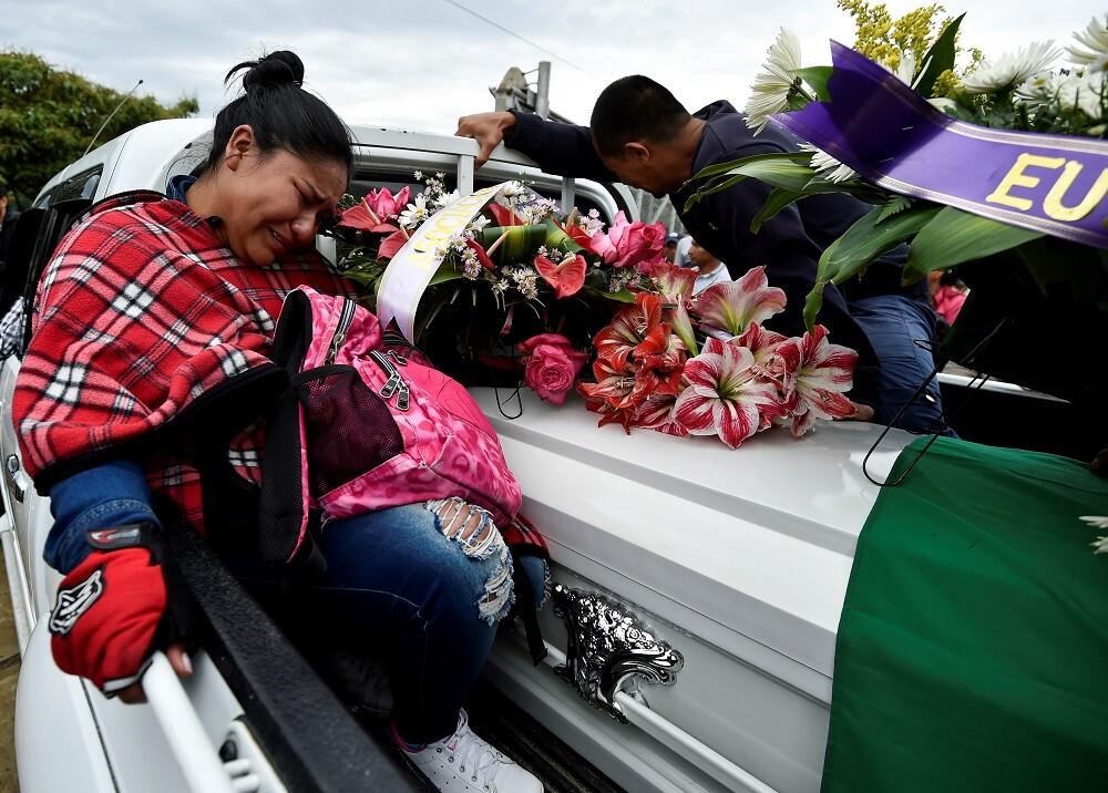 347518_Violencia en el Cauca // Foto: AFP
