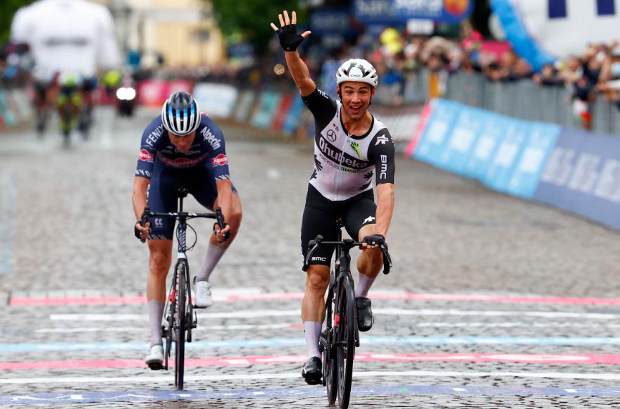 Victor Campenaerts fue el ganador de la etapa 15 del Giro de Italia.