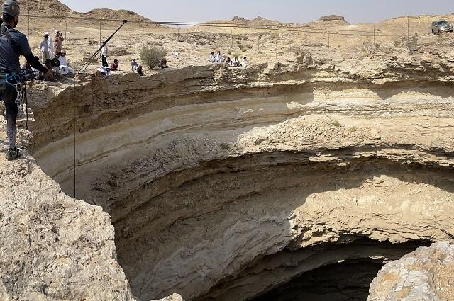 Espeleólogos descendieron al 'pozo del infierno' en Yemen y hablaron de lo que encontraron