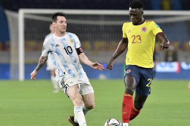 Colombia contra Argentina, en Eliminatorias