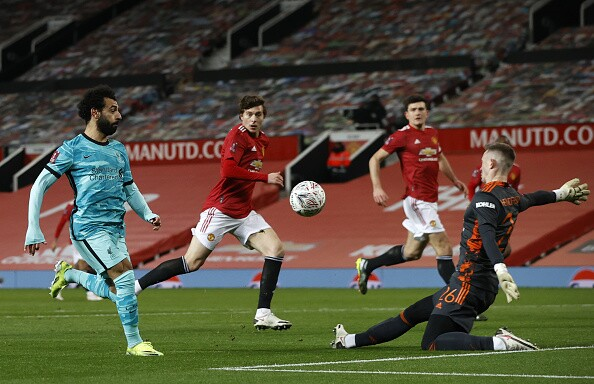 Mohamed Salah, Liverpool vs Manchester United