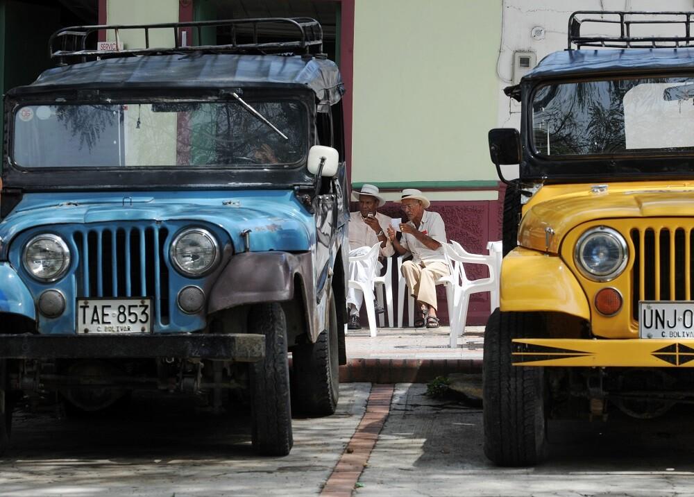336758_BLU Radio. Jeep Willys en Colombia // Foto: AFP