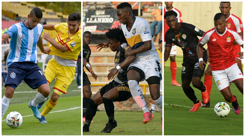 Partidos de la novena jornada en la Primera B