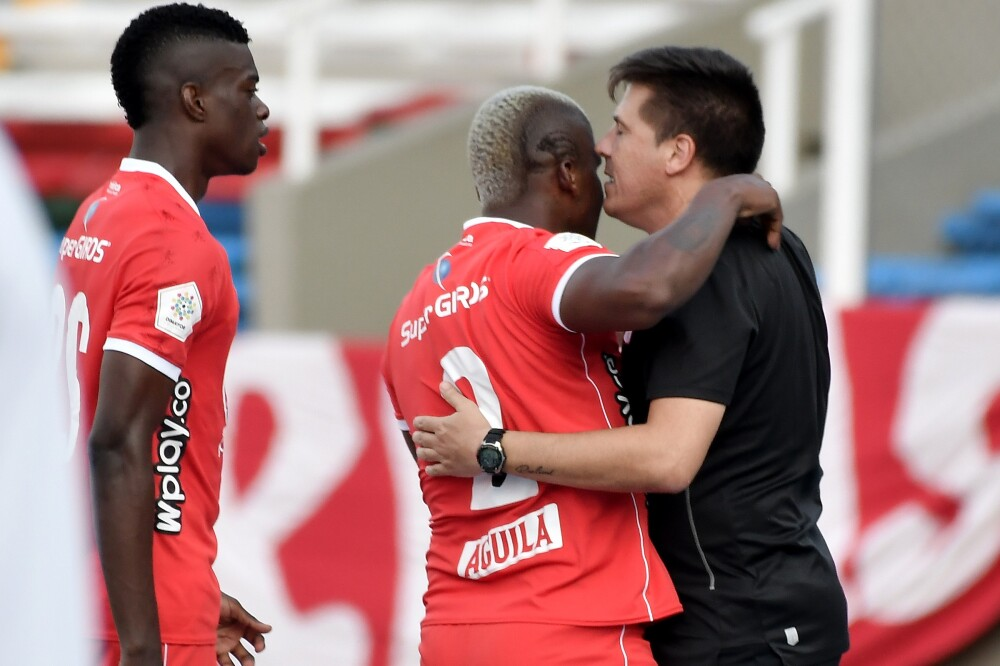 Juan Cruz Real y Marlon Torres