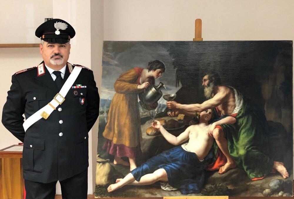 ITALY-ART-CRIME-POUSSIN