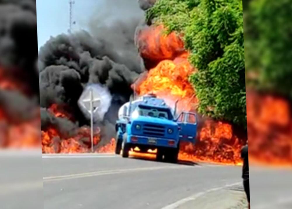 incendio de camion y bomba de gasolina en maicao.jpg