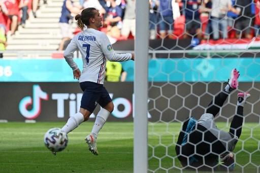 Antoine Griezmann, jugador de la Selección de Francia