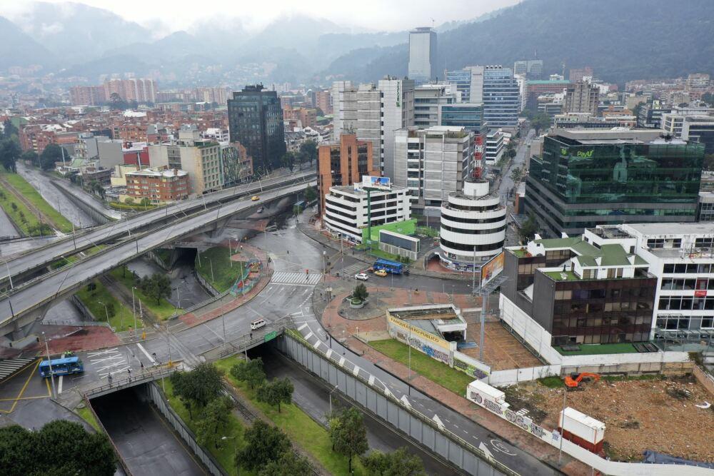 370904_Cuarentena en Colombia // Foto: AFP