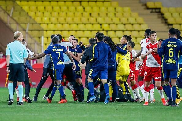 Monaco vs Lyon