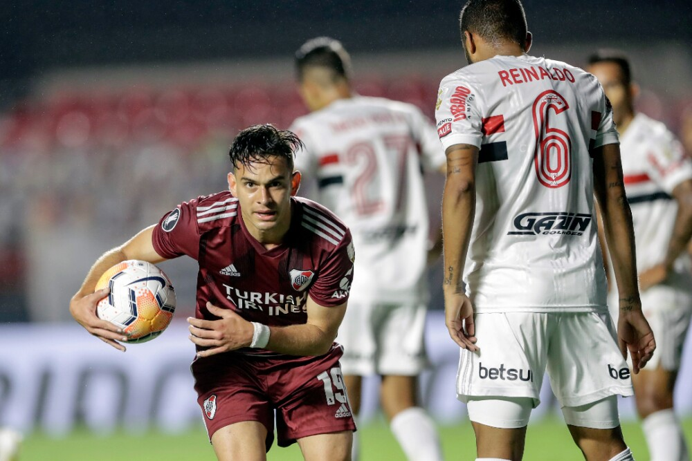 Rafael Santos Borré River Plate Sao Paulo 170920 AFP E.jpg