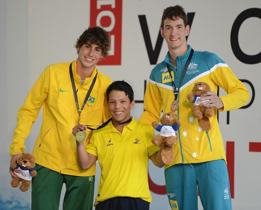 Nelson Crispín ganador medalla de oro