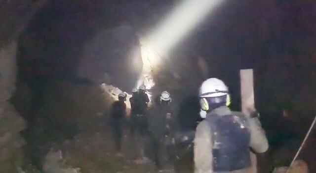 Socavón en Buriticá donde atacaron a los policías.jpeg