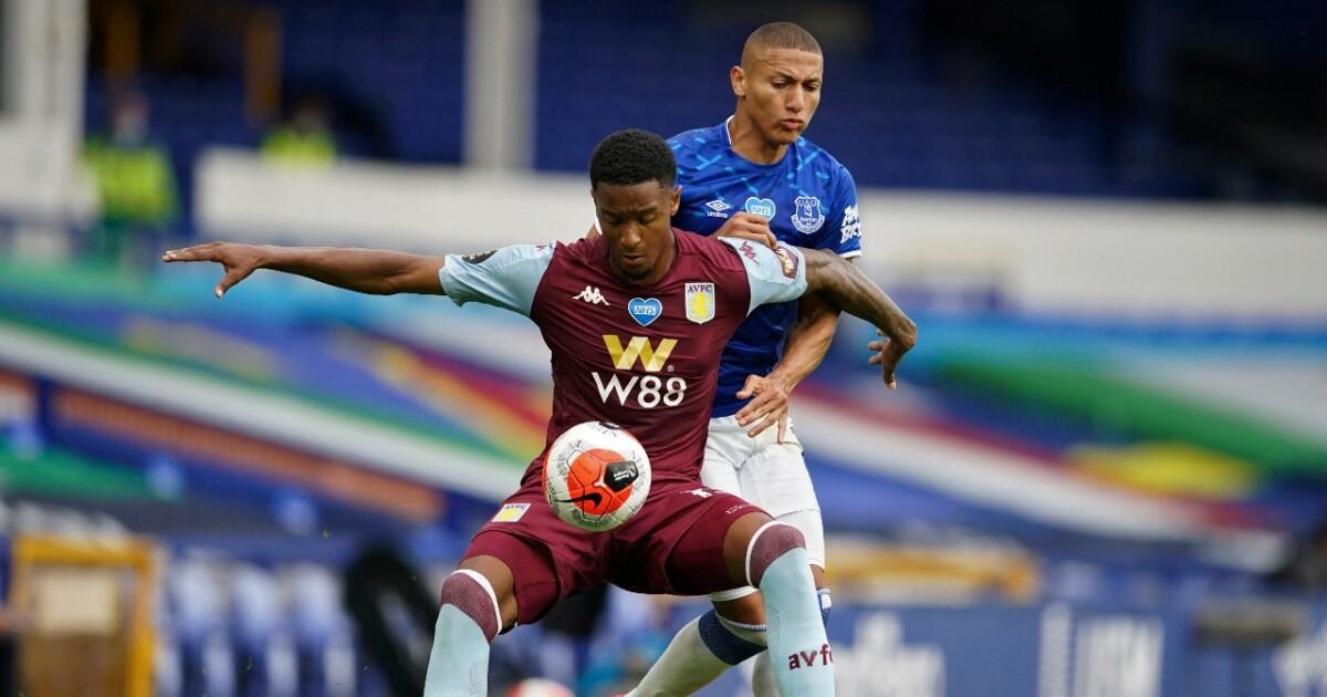 Everton 1 vs Aston Villa 1 EN VIVO: James Rodríguez se lesionó antes del juego y no es ni suplente
