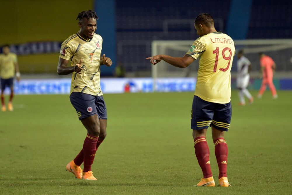 Colombia v Venezuela - South American Qualifiers for Qatar 2022