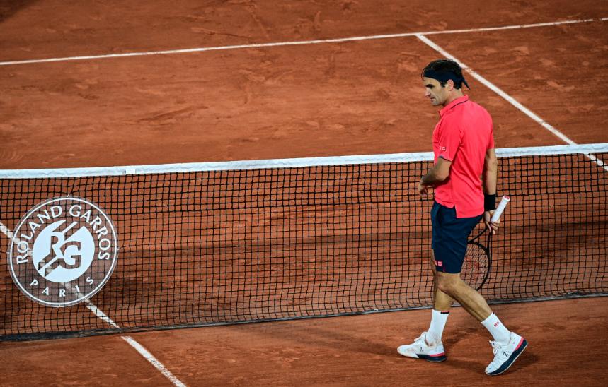 Roger Federer se retiró de Roland Garros.