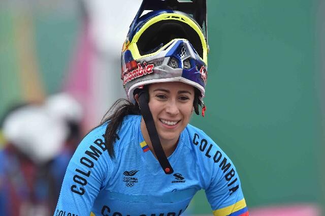 Mariana Pajón, previo a su debut en los Juegos Olímpicos de Tokio