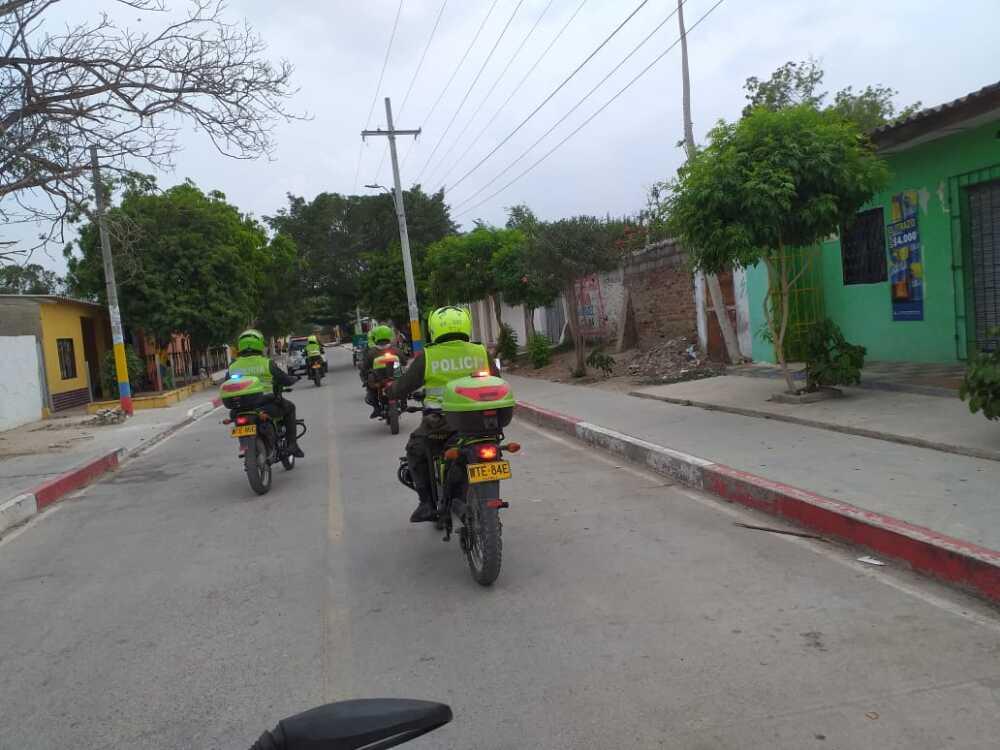369727_BLU Radio // Caravanas en Atlántico // Foto: Policía Nacional