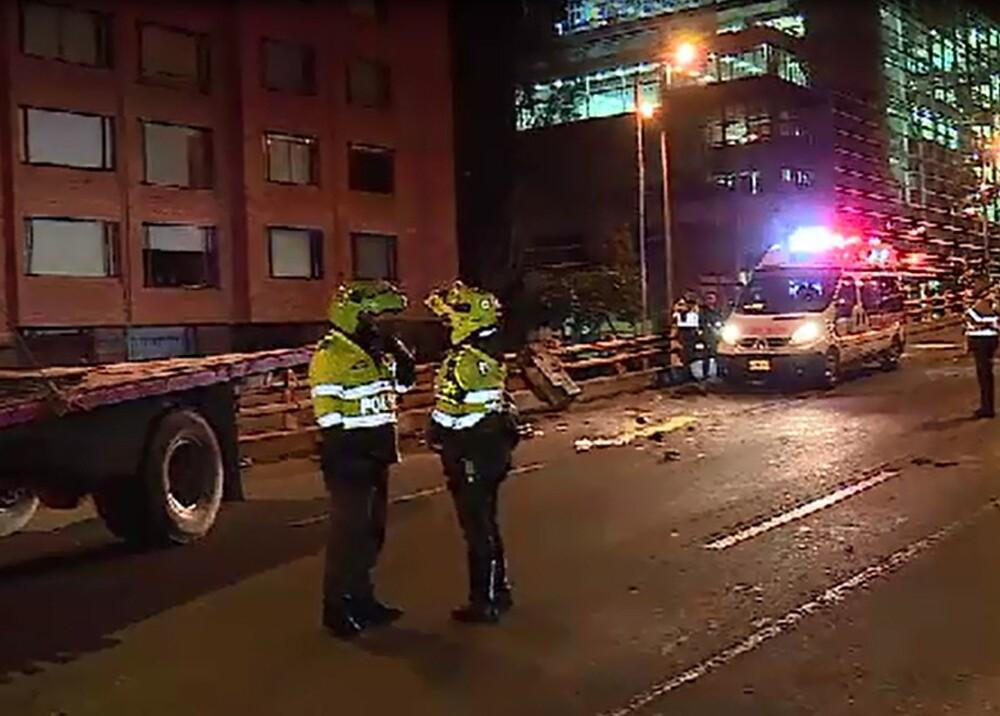 6961_La Kalle - Murió niño en accidente de tránsito en Bogotá - Foto Captura Noticias Caracol