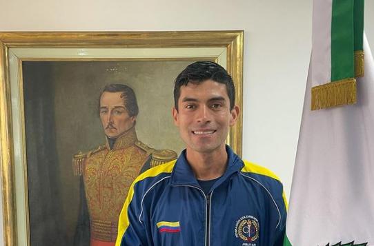 Diego Pinzón representará a Colombia en los Juegos Olímpicos de Tokio 2020.