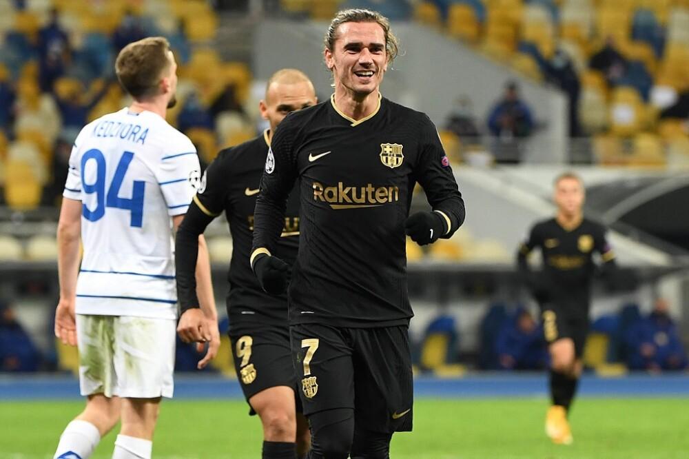 Antoine Griezmann, Barcelona vs Kiev