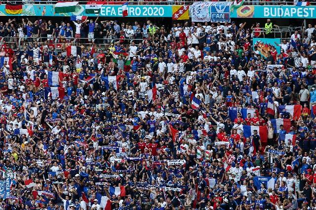 Hinchas de la Selección de Francia