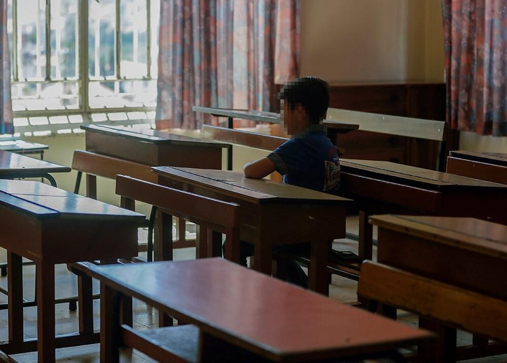 371058_Consecuencias de la pandemia en los niños por no asistir a clase // Foto: AFP, imagen de referencia