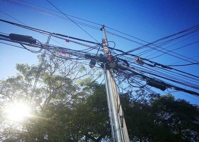 333289_Blu Radio/ Referencia robo de cables. Foto: BLU Radio