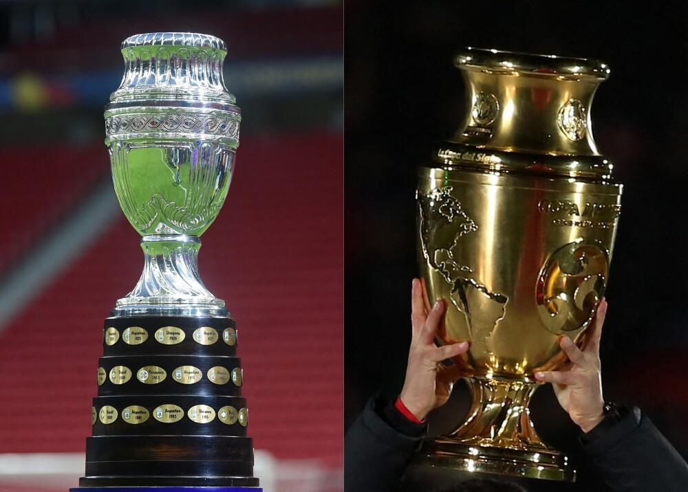 Trofeos Copa América Fotos AFP