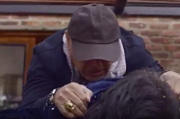 La reina del flow 2: heridas que sufrió Lucho Velasco en escena en la que muere Manín, su personaje