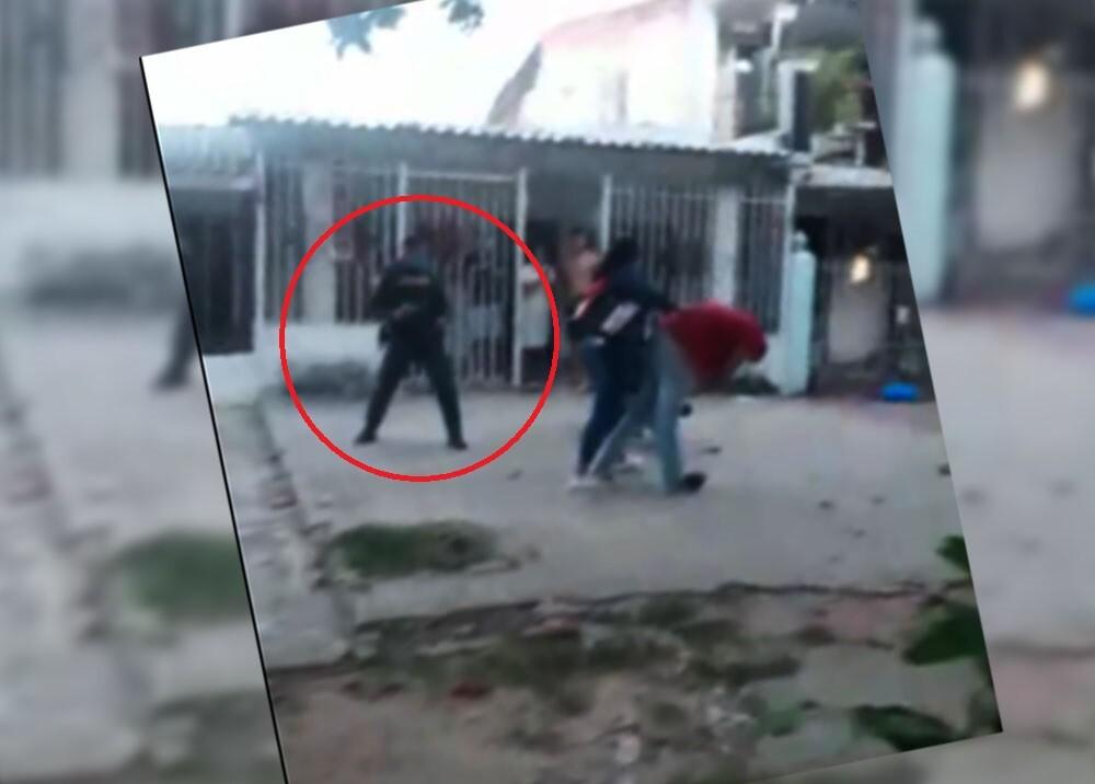 policia que presuntamente disparó a un hombre en barranquilla.jpg
