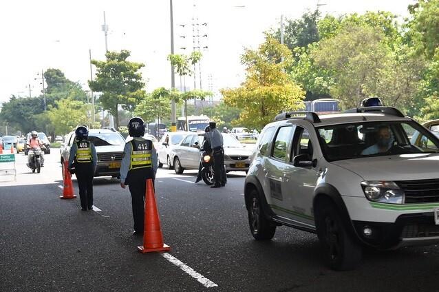 Pico y placa en Medellín para particulaes y taxis.