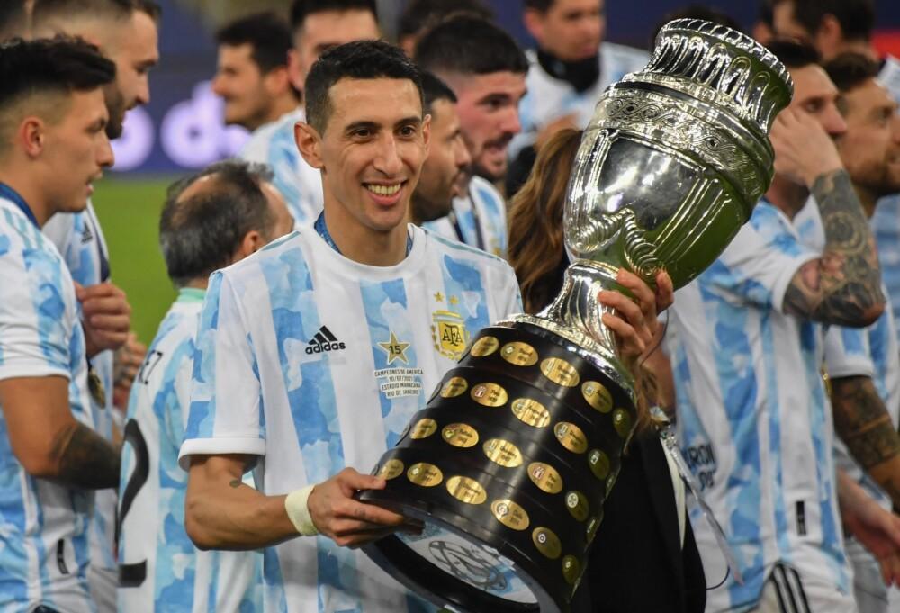 Ángel Di María en Copa América