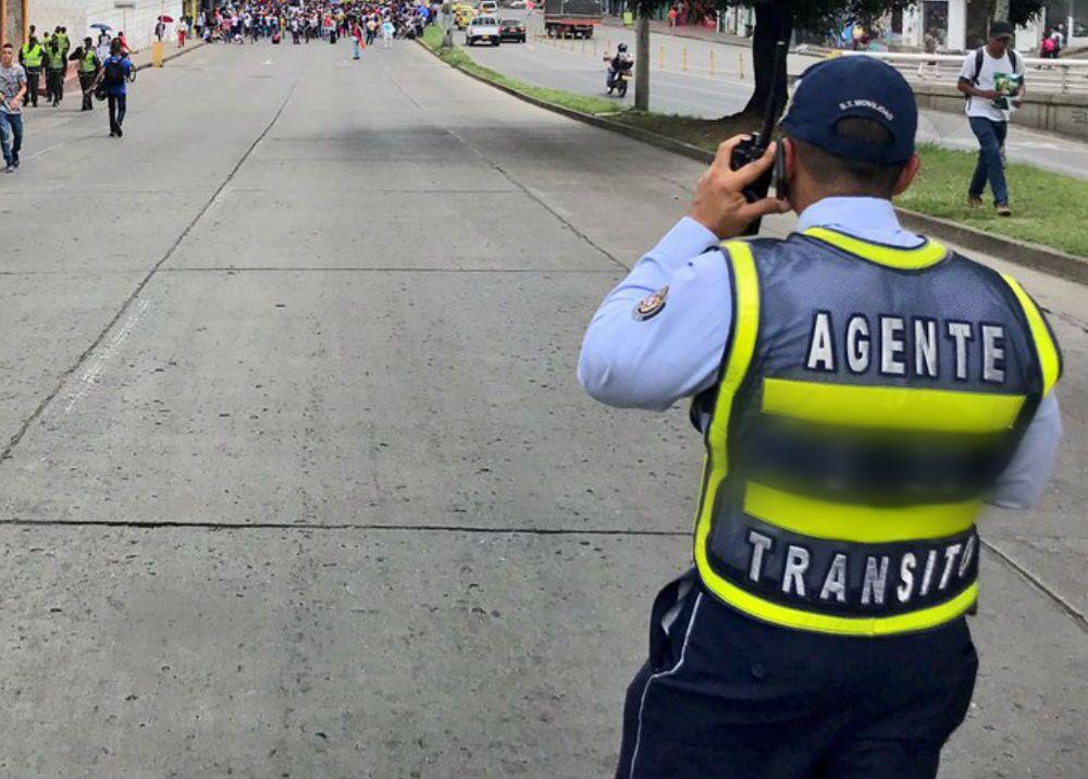 335089_Foto: Agente de Tránsito de Cali - Imagen de referencia - @MovilidadCali