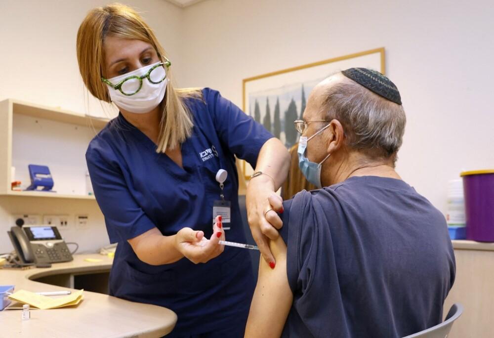 Tercera dosis de la vacuna contra el COVID en Israel
