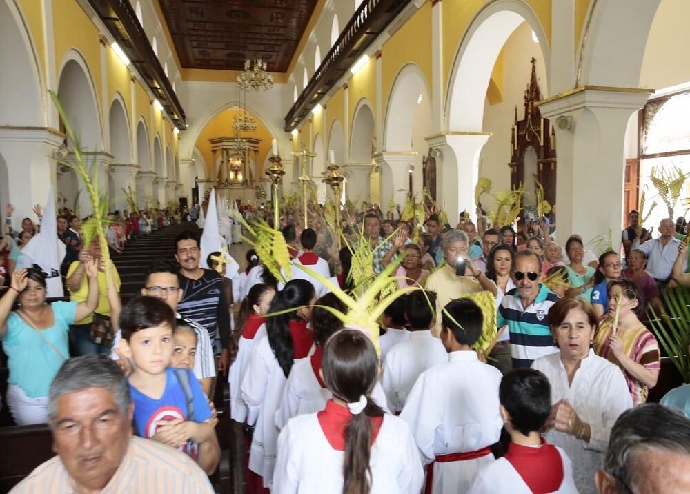 281919_Foto procesión Domingo de Ramos - Gobernación de Santander