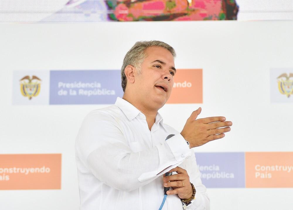 335869_Blu Radio // Ivan Duque // Foto: Presidencia de la República