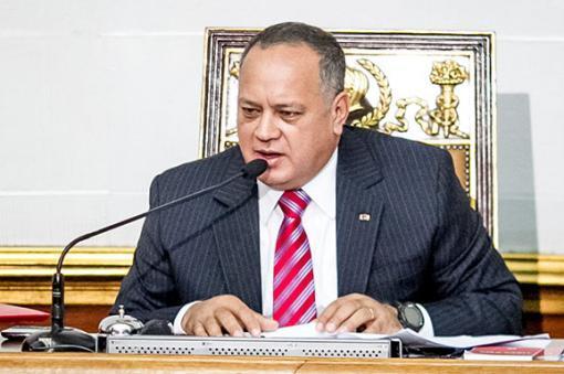 4647_BLU Radio. Diosdado Cabello // Foto: EFE