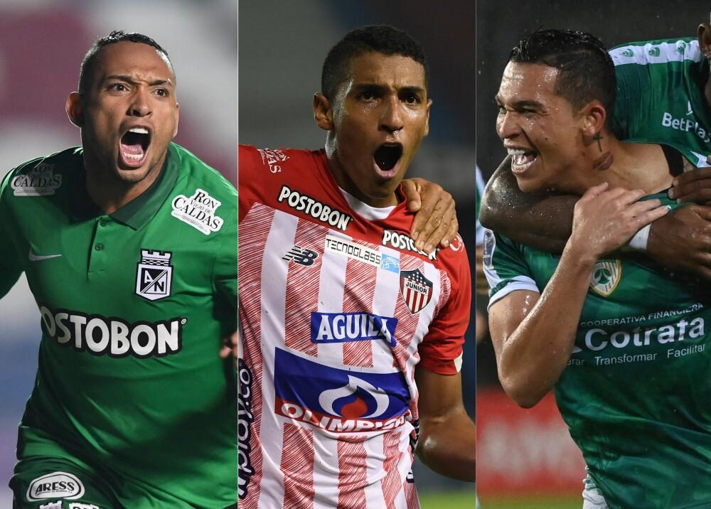 Atlético Nacional Junior Equidad AFP