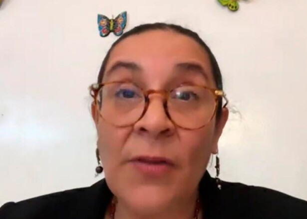 Diputada Valentina Batres Guadarrama  // Foto: Twitter @GPMorenaCdMex