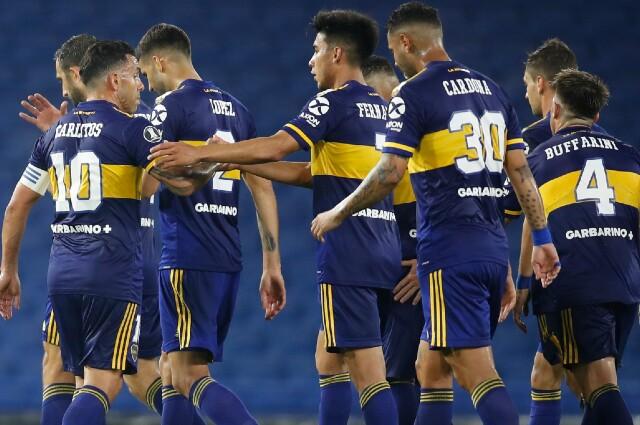 Boca Juniors vs Caracas
