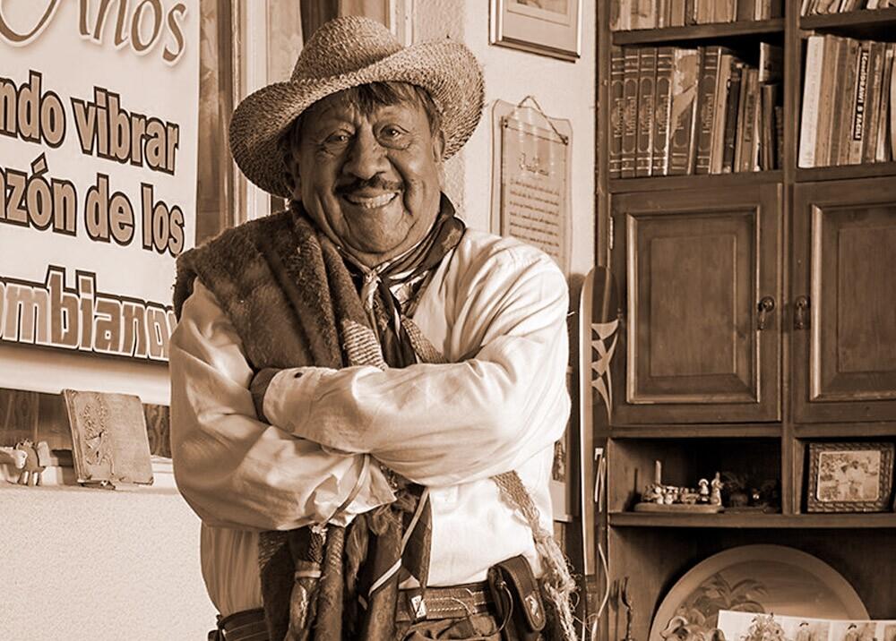 372112_Rómulo Mora Sáenz, 'el Indio Rómulo' (1931 – 2020) // Foto: Facebook Indio Rómulo