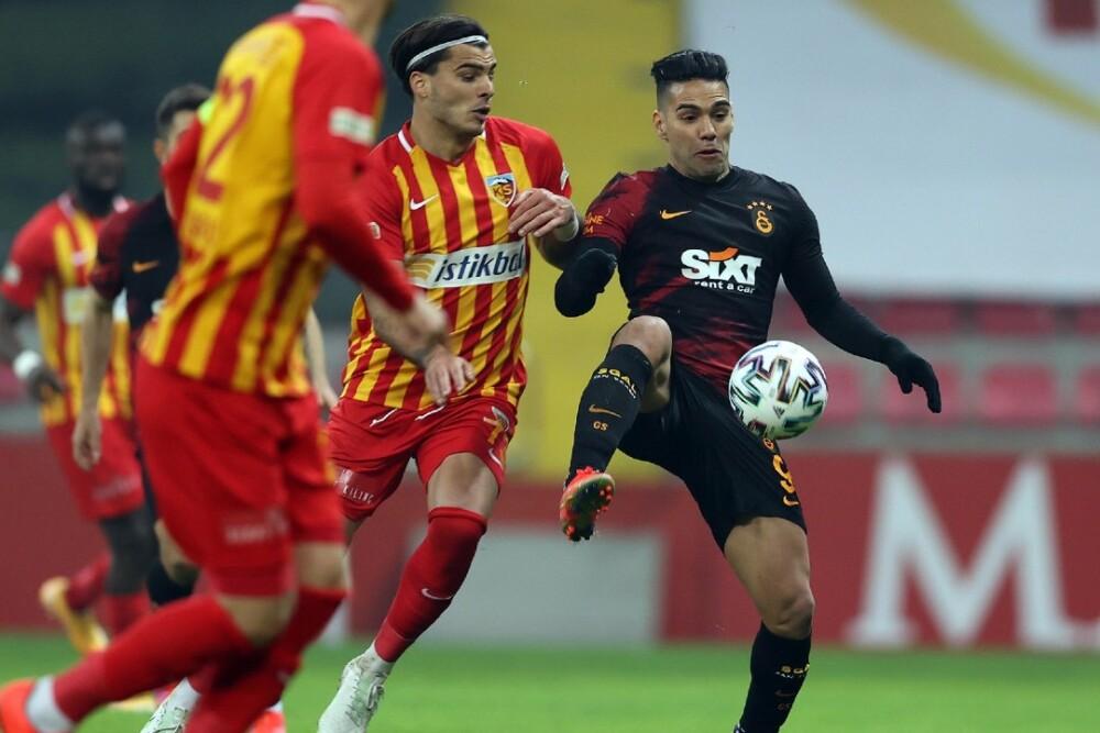 Falcao García Kayserispor vs Galatasaray